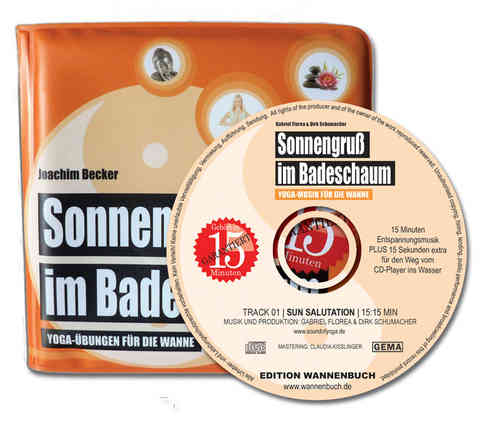 Buch plus CD: Sonnengruß im Badeschaum - Limited Edition