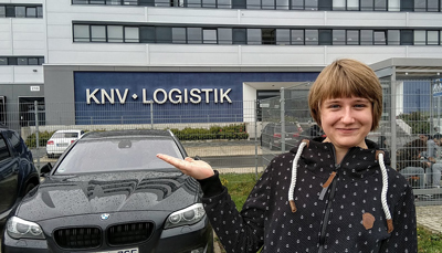 Frances Obst bei KNV in Erfurt