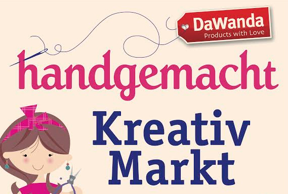 Handgemacht Kreativmarkt Leipzig am 11./12. April 2015